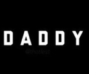 black and white, daddy, and twitter header image