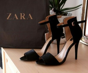 Zara, shoes, and fashion image