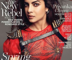 marie claire, red, and spring fashion image