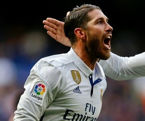 football, real madrid, and sergio ramos image