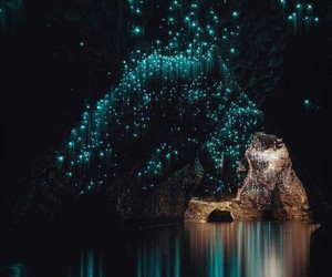 cave, nature, and light image