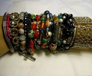 bracelets, costume, and vintage & antique jewelry image