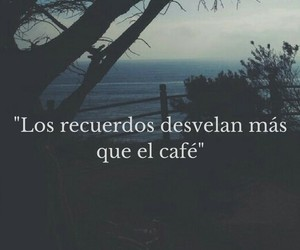 memories, cafe, and frases image