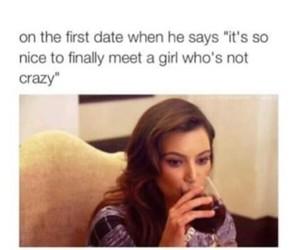 funny, crazy, and kim kardashian image