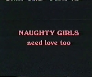 love, naughty, and quotes image