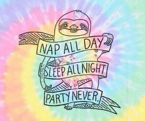 party, sleep, and wallpaper image