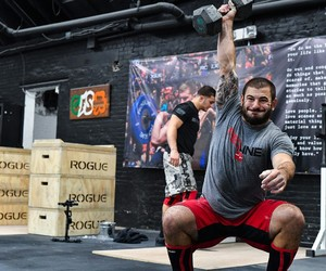 crossfit, crossfit games, and mat fraser image