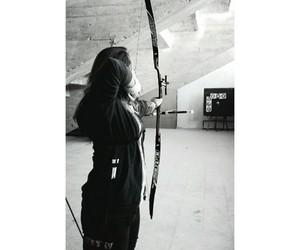 archery, arrow, and hoyt image
