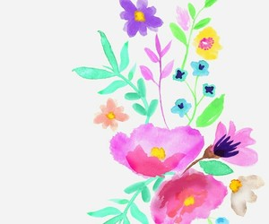 background, floral, and colorful image