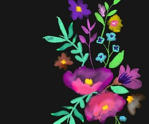 background, black, and colorful image