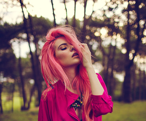 color, pastel, and pink image