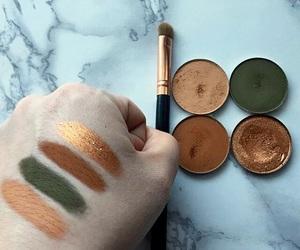 bronze, eyeshadow, and makeup image