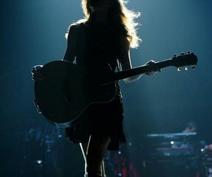 Taylor Swift, guitar, and concert image