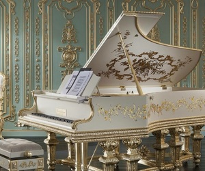 piano, royal, and aesthetic image
