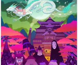art, spirited away, and anime image