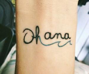 tattoo, ohana, and family image