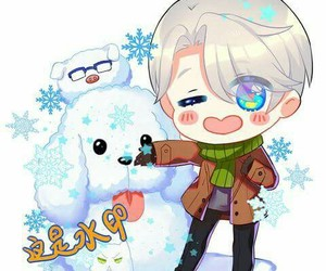 victor, yuri on ice!!!, and yori on ice image