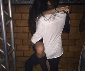 couple, cute, and blurry image
