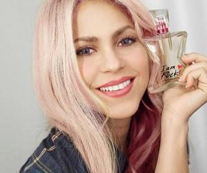 fan art, pink hair, and shakira image