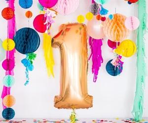 1, anniversary, and balloon image