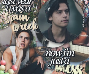 edit, cole sprouse, and riverdale image