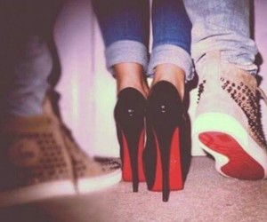 shoes, heels, and boy image