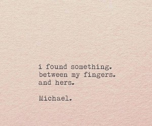 beauty, fingers, and quotes image