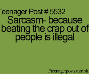 lol, sarcasm, and teenager post image