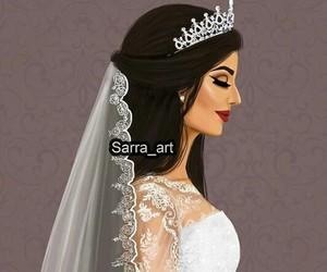 bride, girl, and wedding image