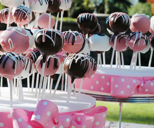 cake pops and dessert image