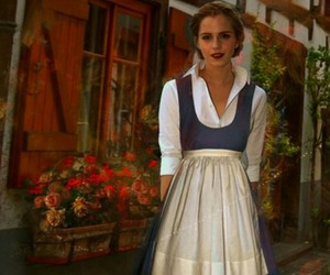 actress, beauty and the beast, and belle image