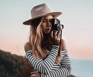 camera, hair, and photo image