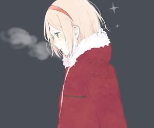 sakura haruno, anime, and naruto image