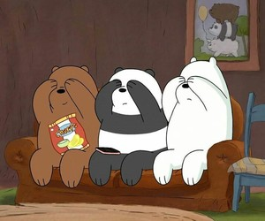 bear, cartoon, and ice bear image