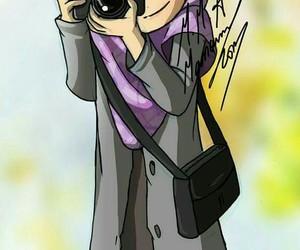 arab, cartoon, and hijab image