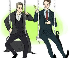 ship, swings, and mycroft image
