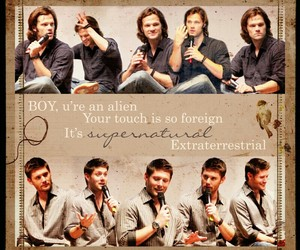 jared padalecki, supernatural, and jensen ackels image
