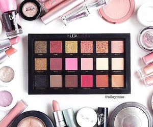 makeup, palette, and beauty products image