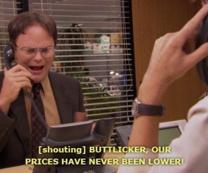 dwight, dwight schrute, and funny image