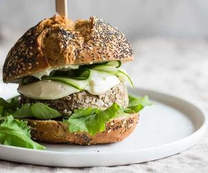 burger, chestnuts, and delicious image