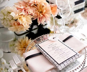 wedding, flowers, and decor image