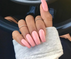 accessories, long nails, and L image