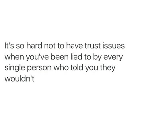 hard, issues, and trust image