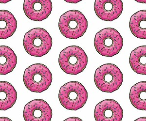 background, wow, and donut image