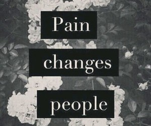 pain, change, and people image