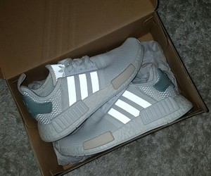 adidas, white, and nmdr1 image