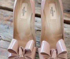 shoes, Valentino, and bow image