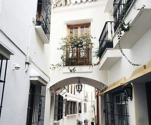 white, travel, and city image