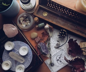 witchcraft, crystal, and magic image