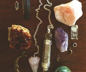 crystal, stone, and necklace image